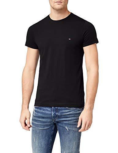 Tommy Hilfiger - Tommy Hilfiger Mens - Mens T Shirt - Mens Clothes - Designer T Shirts Men - Core Stretch Slim CN T… 1