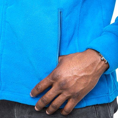 Trespass Bernal Men`s Sueded Full Zip Fleece Jacket 7