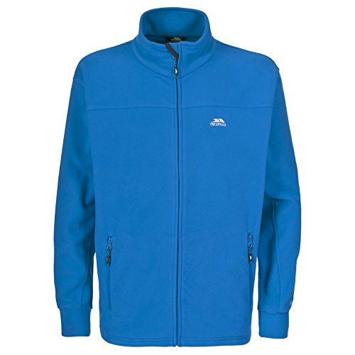 Trespass Bernal Men`s Sueded Full Zip Fleece Jacket 8