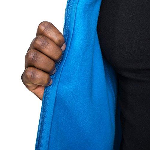 Trespass Bernal Men`s Sueded Full Zip Fleece Jacket 9