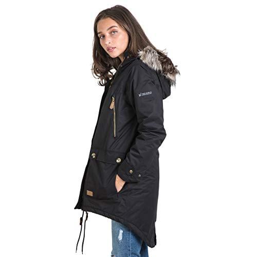 Trespass Clea Womens Padded Waterproof Coat with Hood 3