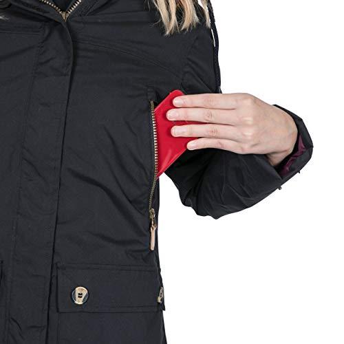 Trespass Clea Womens Padded Waterproof Coat with Hood 7