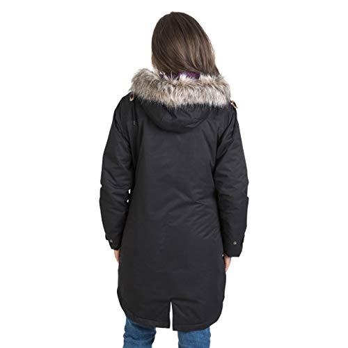Trespass Clea Womens Padded Waterproof Coat with Hood 8