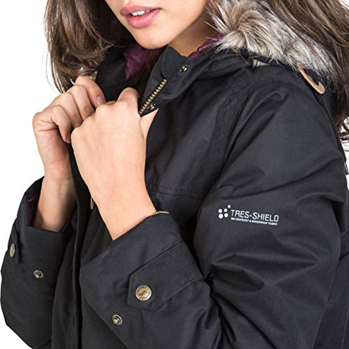 Trespass Clea Womens Padded Waterproof Coat with Hood 10