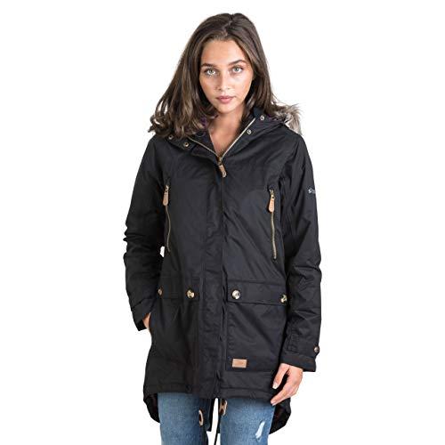 Trespass Clea Womens Padded Waterproof Coat with Hood 1