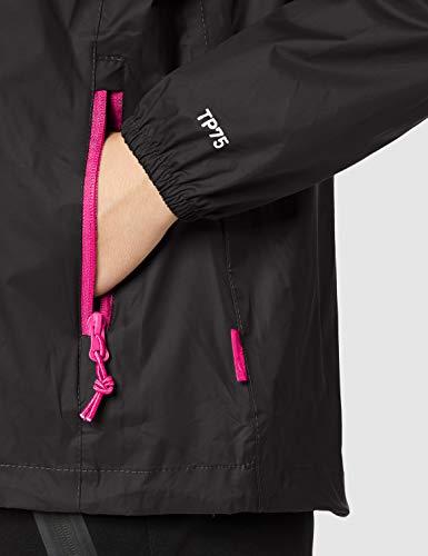 Trespass Women's Qikpac Compact Pack Away Waterproof Rain Jacket 5