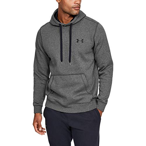 Under Armour Rival Fitted Pull Over, Breathable Running Hoodie Made of Stretchy Material, Hooded Jumper with Practical… 3