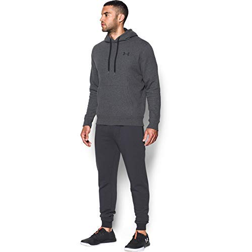 Under Armour Rival Fitted Pull Over, Breathable Running Hoodie Made of Stretchy Material, Hooded Jumper with Practical… 14