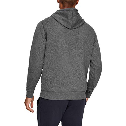Under Armour Rival Fitted Pull Over, Breathable Running Hoodie Made of Stretchy Material, Hooded Jumper with Practical… 5