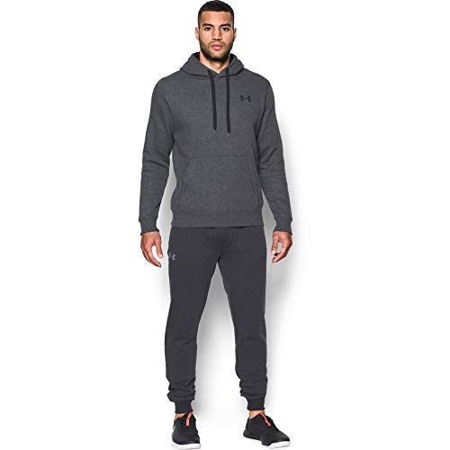 Under Armour Rival Fitted Pull Over, Breathable Running Hoodie Made of Stretchy Material, Hooded Jumper with Practical… 6