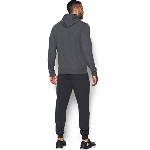 Under Armour Rival Fitted Pull Over, Breathable Running Hoodie Made of Stretchy Material, Hooded Jumper with Practical… 7
