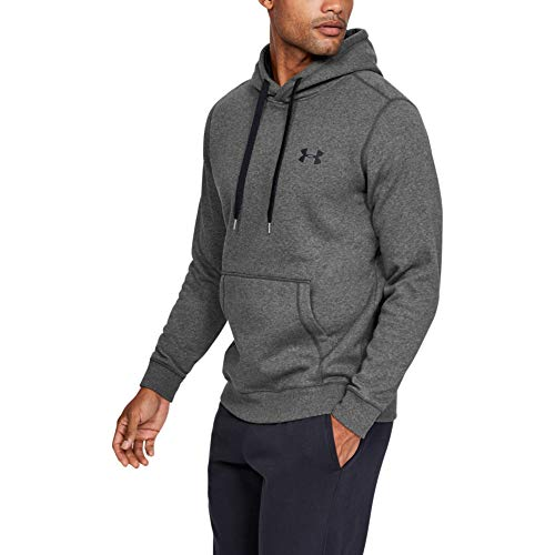 Under Armour Rival Fitted Pull Over, Breathable Running Hoodie Made of Stretchy Material, Hooded Jumper with Practical… 8