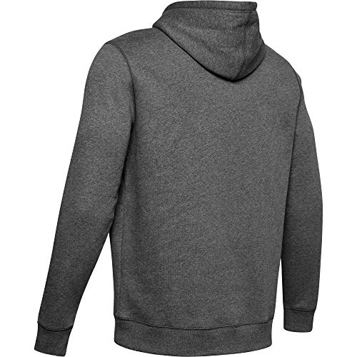 Under Armour Rival Fitted Pull Over, Breathable Running Hoodie Made of Stretchy Material, Hooded Jumper with Practical… 12