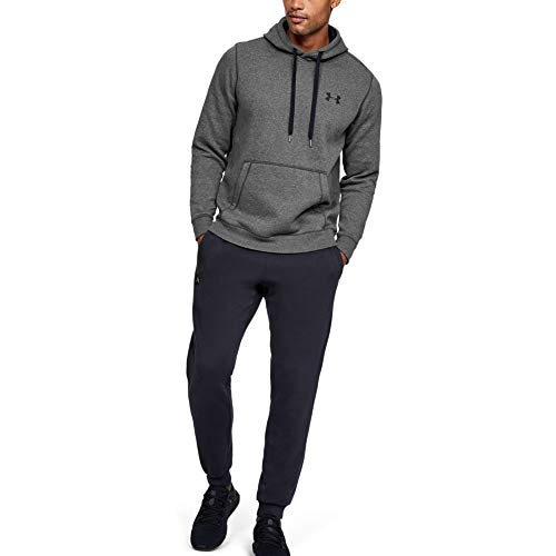Under Armour Rival Fitted Pull Over, Breathable Running Hoodie Made of Stretchy Material, Hooded Jumper with Practical… 1