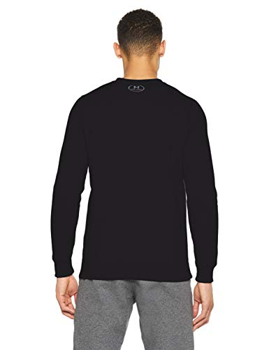 Under Armour Rival Solid Fitted Crew, Men's Fleece Jumper Crafted from Durable Fabric, Fleece Pullover with Long Sleeves… 3