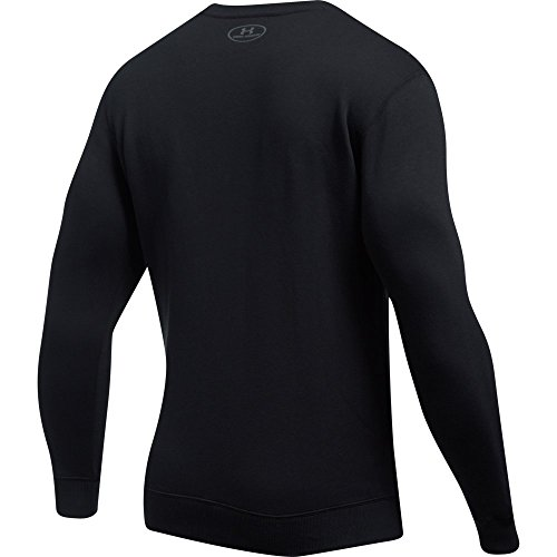 Under Armour Rival Solid Fitted Crew, Men's Fleece Jumper Crafted from Durable Fabric, Fleece Pullover with Long Sleeves… 5