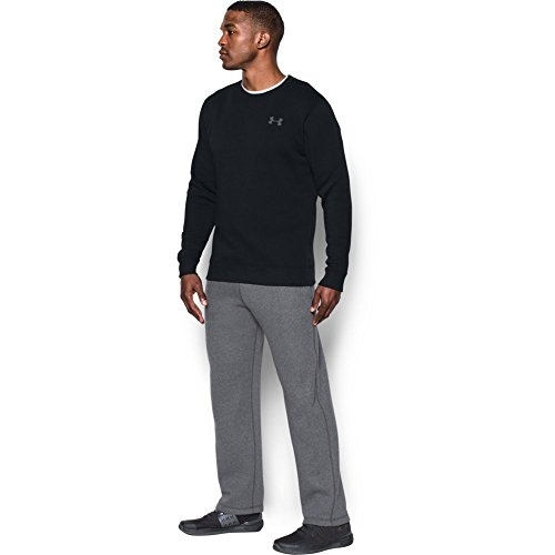 Under Armour Rival Solid Fitted Crew, Men's Fleece Jumper Crafted from Durable Fabric, Fleece Pullover with Long Sleeves… 6
