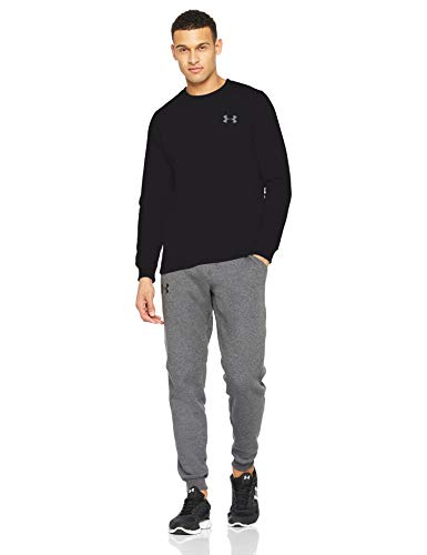 Under Armour Rival Solid Fitted Crew, Men's Fleece Jumper Crafted from Durable Fabric, Fleece Pullover with Long Sleeves… 8