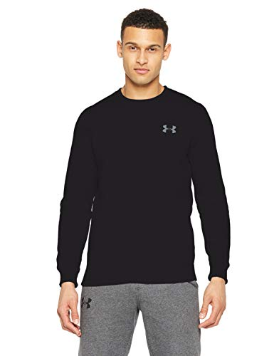 Under Armour Rival Solid Fitted Crew, Men's Fleece Jumper Crafted from Durable Fabric, Fleece Pullover with Long Sleeves… 1