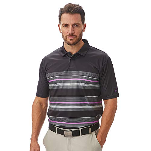Under Par Men's Golf Pro Quality Breathable Wicking 8 Styles 18 Colours Golf Golf Polo Shirt 3