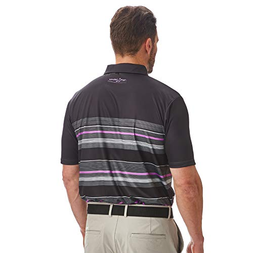 Under Par Men's Golf Pro Quality Breathable Wicking 8 Styles 18 Colours Golf Golf Polo Shirt 9