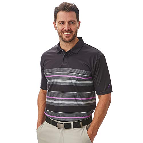 Under Par Men's Golf Pro Quality Breathable Wicking 8 Styles 18 Colours Golf Golf Polo Shirt 1