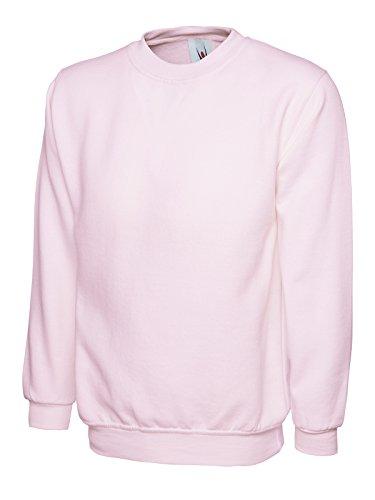 Uneek 300g Plain Classic Crewneck Sweatshirt 1