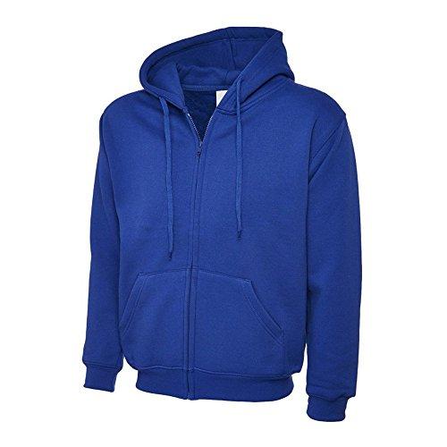 Uneek UC504 Polyester Cotton Unisex-Adults Classic Full Zip Hooded Sweatshirt 1