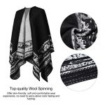 VBIGER Women Winter Poncho Oversized Warm Blanket Cape Wraps Shawl Cardigans 16