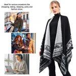 VBIGER Women Winter Poncho Oversized Warm Blanket Cape Wraps Shawl Cardigans 17