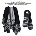 VBIGER Women Winter Poncho Oversized Warm Blanket Cape Wraps Shawl Cardigans 19