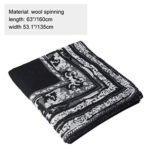VBIGER Women Winter Poncho Oversized Warm Blanket Cape Wraps Shawl Cardigans 7