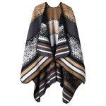 VBIGER Women Winter Poncho Oversized Warm Blanket Cape Wraps Shawl Cardigans 24