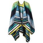 VBIGER Women Winter Poncho Oversized Warm Blanket Cape Wraps Shawl Cardigans 21