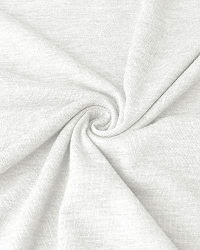 VONDA Womens T Shirt Long/Short Sleeve Ladies Tops Summer Baseball Shirts Crew Neck Top Blouse 5
