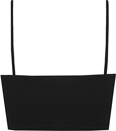 WearAll Womens Strappy Sleeveless Ladies Bralet Crop Stretch Vest Top - 8-14 3