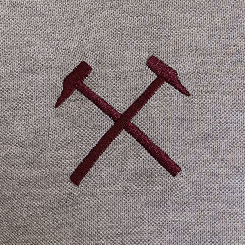 West Ham United FC Official Football Gift Mens Crest Polo Shirt 4