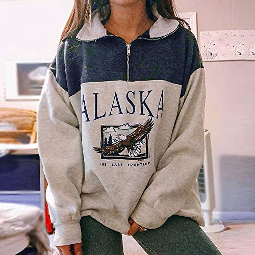 Women Christmas Sweatshirt O-Neck Pullover Tops Novelty Funny Graphic Long Sleeve T-Shirts Xmas Holiday Casual… 4