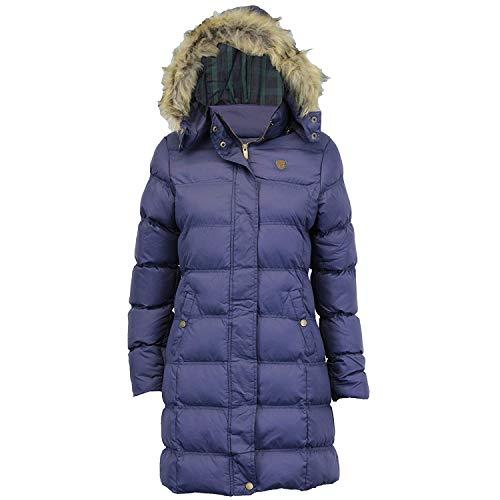 Womens Brave Soul Long Fur Trimmed Hooded Padded Puffer Parka Winter Jacket Coat 3