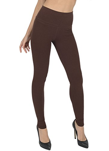 Women's High Waisted Full Length Leggings By Today Is Her ® Extra Comfort Range, Plus Sizes 1