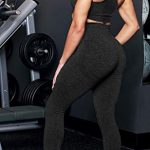 Women's Seamless High Waisted Gym Leggings Power Stretch Compression Running Workout Leggings 20