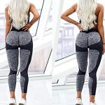 Women's Seamless High Waisted Gym Leggings Unique Design Power Stretch Yoga Pants Running Workout Leggings 18