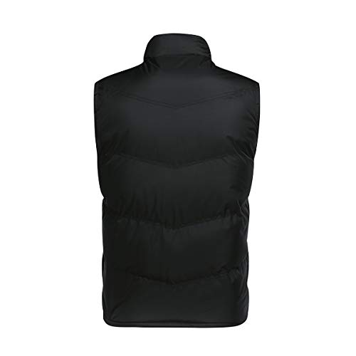 YOUTHUP Mens Gilets Casual Outdoor Quilted Body Warmer Winter Classic Sleeveless Jackets 3