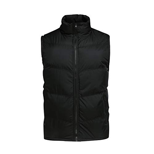 YOUTHUP Mens Gilets Casual Outdoor Quilted Body Warmer Winter Classic Sleeveless Jackets 5