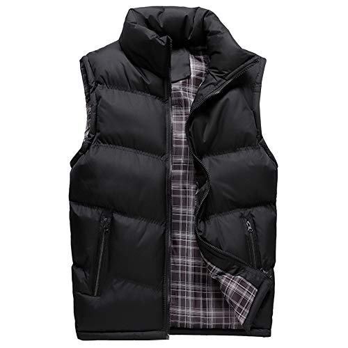 YOUTHUP Mens Gilets Casual Outdoor Quilted Body Warmer Winter Classic Sleeveless Jackets 1