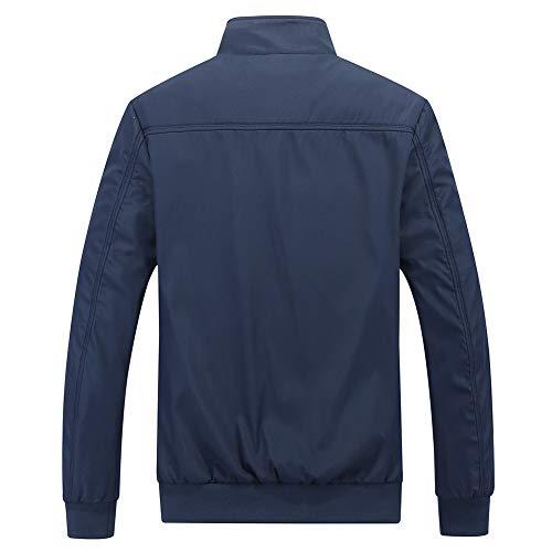 Mens Summer Bomber Jackets Casual Lightweight Windbreaker Sports Jacket Cargo Outwear 3