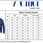 Mens Summer Bomber Jackets Casual Lightweight Windbreaker Sports Jacket Cargo Outwear 17