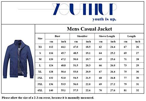 Mens Summer Bomber Jackets Casual Lightweight Windbreaker Sports Jacket Cargo Outwear 4