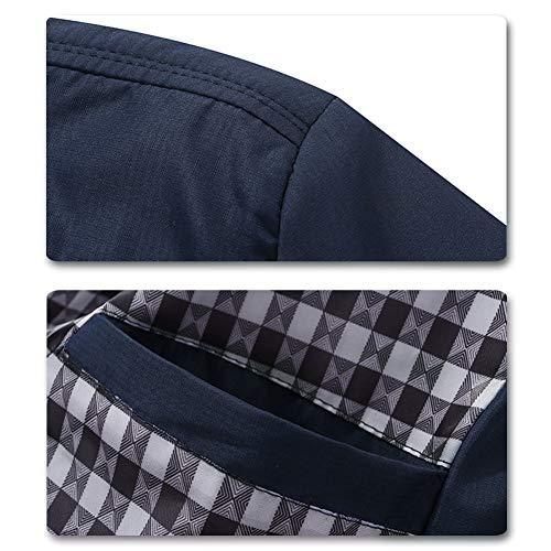 Mens Summer Bomber Jackets Casual Lightweight Windbreaker Sports Jacket Cargo Outwear 5
