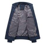 Mens Summer Bomber Jackets Casual Lightweight Windbreaker Sports Jacket Cargo Outwear 19